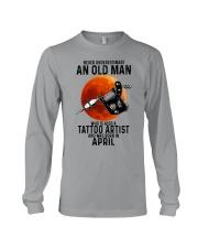 04 tatoo artist never old man Long Sleeve Tee tile