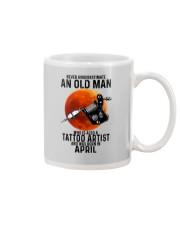 04 tatoo artist never old man Mug tile