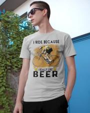 Cycling I Ride Classic T-Shirt apparel-classic-tshirt-lifestyle-17