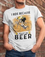 Cycling I Ride Classic T-Shirt apparel-classic-tshirt-lifestyle-26