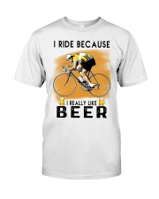 Cycling I Ride Classic T-Shirt front
