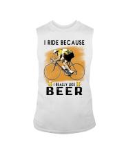 Cycling I Ride Sleeveless Tee tile