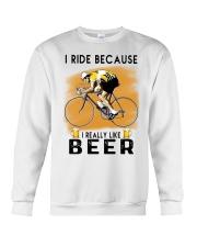 Cycling I Ride Crewneck Sweatshirt tile