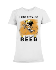 Cycling I Ride Premium Fit Ladies Tee tile