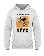 Cycling I Ride Hooded Sweatshirt tile