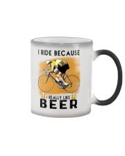 Cycling I Ride Color Changing Mug tile