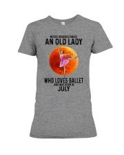 07 ballet old lady Premium Fit Ladies Tee tile