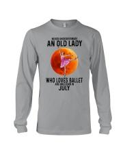 07 ballet old lady Long Sleeve Tee tile