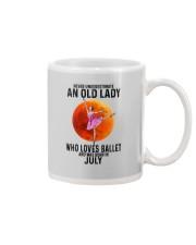 07 ballet old lady Mug tile