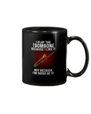 i play trombone Mug tile