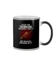 i play trombone Color Changing Mug tile