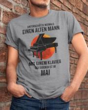 05 piano old man german Classic T-Shirt apparel-classic-tshirt-lifestyle-26