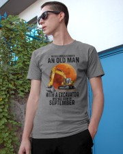 09 excavator old man color Classic T-Shirt apparel-classic-tshirt-lifestyle-17