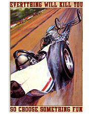 drag racing everything 24x36 Poster front