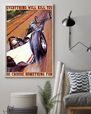 drag racing everything 24x36 Poster lifestyle-poster-1