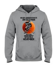 hockey old man 11 Hooded Sweatshirt tile