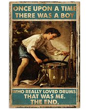 Drums Once Upon Poster 24x36 Poster front