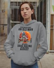 drag racing olm 08 Hooded Sweatshirt apparel-hooded-sweatshirt-lifestyle-08