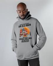 drag racing olm 08 Hooded Sweatshirt apparel-hooded-sweatshirt-lifestyle-front-09
