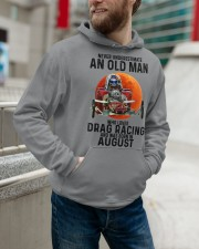 drag racing olm 08 Hooded Sweatshirt apparel-hooded-sweatshirt-lifestyle-front-109