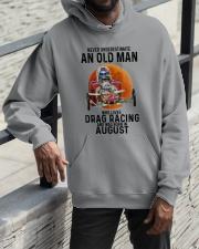 drag racing olm 08 Hooded Sweatshirt apparel-hooded-sweatshirt-lifestyle-front-11