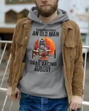 drag racing olm 08 Hooded Sweatshirt apparel-hooded-sweatshirt-lifestyle-front-113