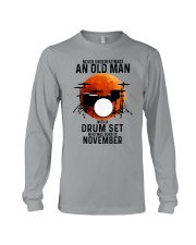 11 drum set never old man Long Sleeve Tee tile