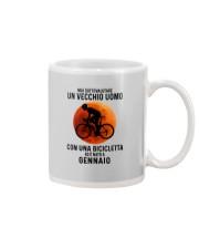 01 cycling old man italy Mug tile