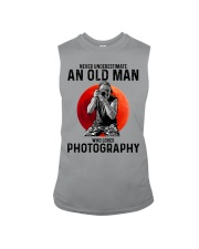 09 hat camera old man Sleeveless Tee tile