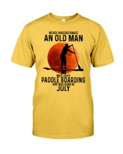 07 paddle boarding Classic T-Shirt front