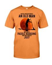 07 paddle boarding Premium Fit Mens Tee tile