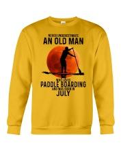 07 paddle boarding Crewneck Sweatshirt tile