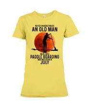 07 paddle boarding Premium Fit Ladies Tee tile