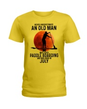 07 paddle boarding Ladies T-Shirt tile