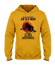 11 dj mix olm Hooded Sweatshirt tile