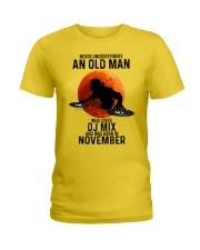 11 dj mix olm Ladies T-Shirt tile