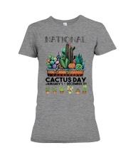 Cactus National  Premium Fit Ladies Tee tile