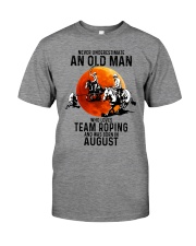08 Team roping old man Premium Fit Mens Tee tile