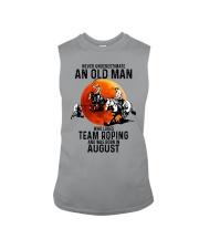 08 Team roping old man Sleeveless Tee tile