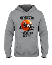08 Team roping old man Hooded Sweatshirt tile