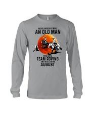 08 Team roping old man Long Sleeve Tee tile