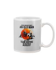 08 Team roping old man Mug tile
