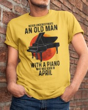 04 piano never old man Classic T-Shirt apparel-classic-tshirt-lifestyle-26