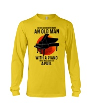 04 piano never old man Long Sleeve Tee tile