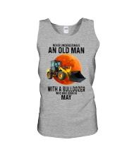 05 bulldozer old man color Unisex Tank tile