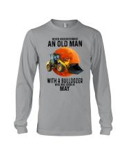 05 bulldozer old man color Long Sleeve Tee tile