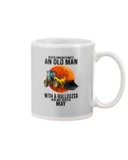 05 bulldozer old man color Mug tile