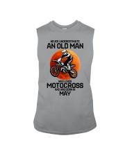 5 motocross old man Sleeveless Tee tile