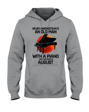 piano-8 Hooded Sweatshirt tile