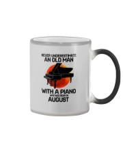 piano-8 Color Changing Mug tile